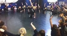 Razzamataz Children Rehearsing