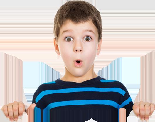 A Surprised Boy