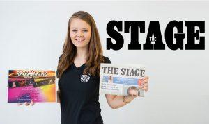 Megan Wharton, scholarship winner at Razzamataz Carlisle
