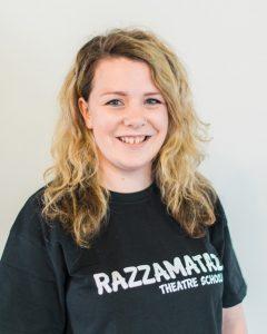 Zoe Mckibbin, Principal of Razzamataz Edinburgh