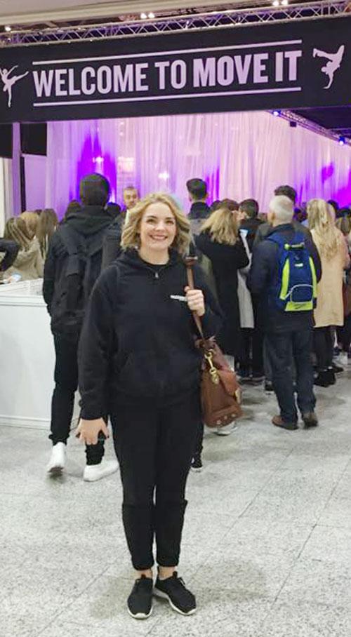 Charlotte Young, Principal of Razzamataz West Cumbria at MOVE IT 2016