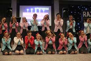 Razzamataz Carlisle students perform
