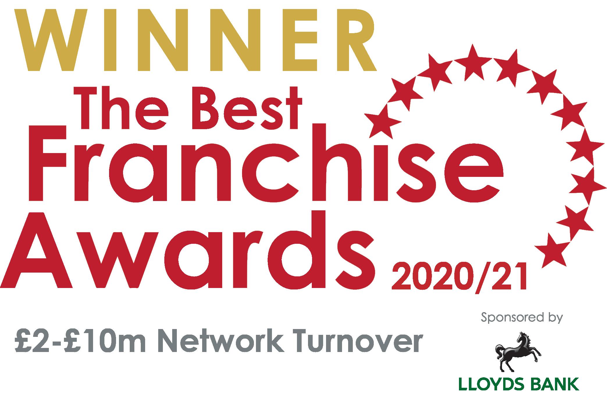 Winners of the Best Franchise Awards 2020/21