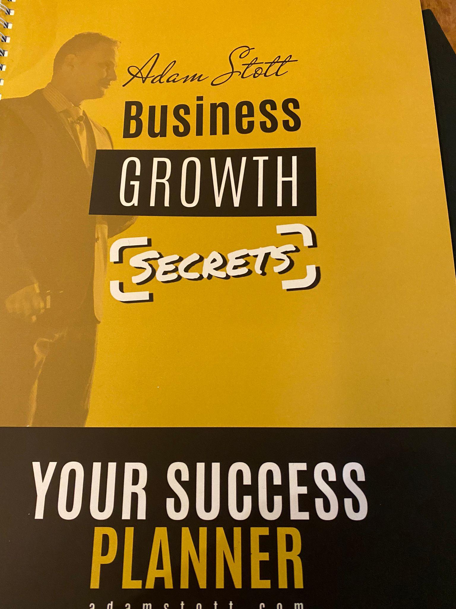 Adam Stott's Business Growth Secrets
